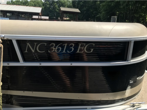 Lettering from Quality Resin Systems, Inc Q, NC