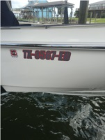 Boston Whaler 27 foot Dauntless 2017 Lettering from Donald T, TX