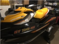 2009 Tahoe and 2018 Sea Doo GTI SE 130 Boat and jet ski  Lettering from Joseph S, NY