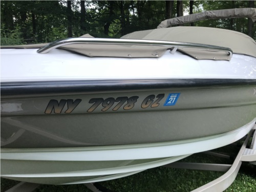 Crownline  Boat Lettering from Leslie S, NY