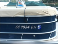 2017 Sweetwater Pontoon Boat Lettering from M TODD S, SC