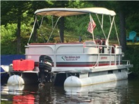 1987 Grumman 20' Pontoon Boat Boat Lettering from Cheryl S, NY