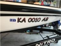 2017 Nitro Z17 Bass Boat Lettering from Andrew W, KS