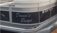 Bennington pontoon ssrx Lettering from douglas s, OH
