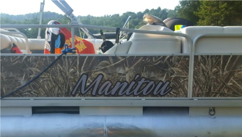 2007 Manitou  Oasis Pontoon  from Jim S, NY