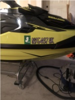 2018 sea doo RXTX PWC Lettering from ROBERT K, NJ