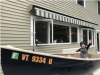 2018 Puffin 860 Dinghy Lettering from David T, VT