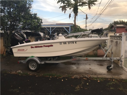2017 Boston whaler 130 super sport  from trung p, HI