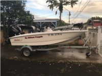 2017 Boston whaler 130 super sport Boat Lettering from trung p, HI