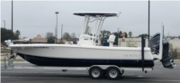 2018 Robalo 246 Cayman Boat Lettering from Brian H, LA