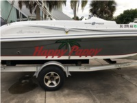 2014 Hurricane Sun Deck Boat Lettering from James  D, FL
