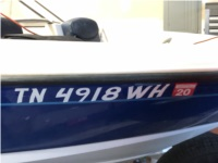 2006 Bayliner 175 Boat Lettering from Kenneth O, TN