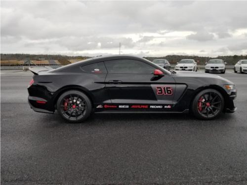 2018 Shelby GT350 Racecar Lettering from Jon E, GA