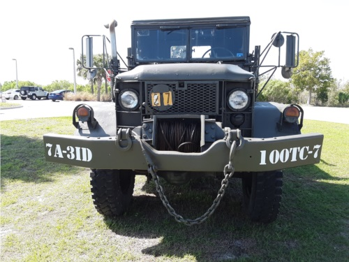 Army Truck Lettering from Vince C, FL