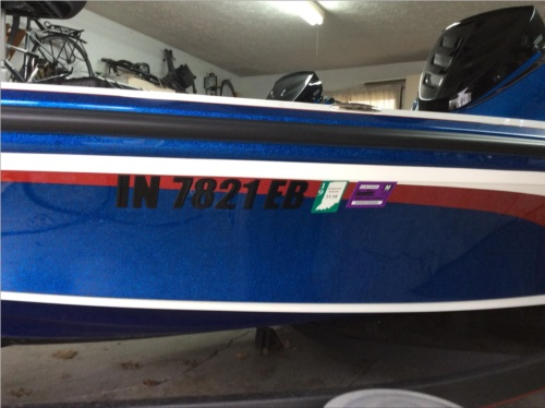 2019 Nitro Z19 Boat Lettering from Doug  T, IN