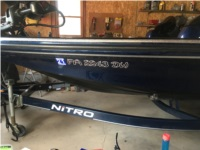 06 nitro bass boat Boat Lettering from ryan m, PA