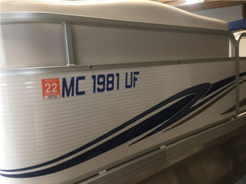 2008 Manitou 22' Pontoon  from Brian H, MI