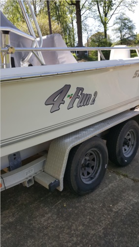 2004/2100SV Sea Pro Lettering from charles d, MD