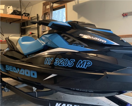 Sea Doo Lettering from Aaron K, NY