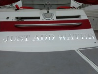 1998 Cobalt 25 LS Boat Lettering from Ray W, AL