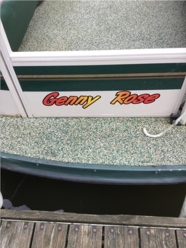Crest liner  Boat Lettering from Ted G, OH