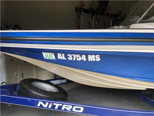 Nitro Z7 Sport  Boat Lettering from Gayla L, AL