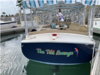 2008 Duffy 18-foot Snug Harbor Duffy Electric Boat Lettering from Barb K, CA