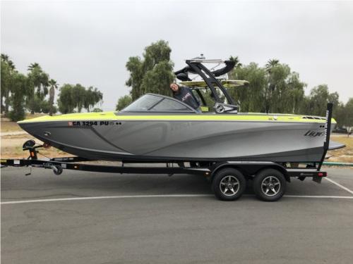 2018 Tigé R21 Boat Lettering from Michael W, CA
