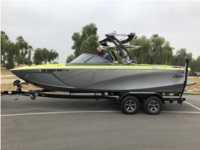 2018 Tigé R21 Boat Lettering from Michael W, CA