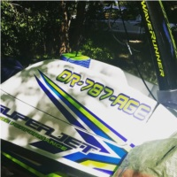 2018 Yamaha superjet  Stand up ski Lettering from Teran H, OR