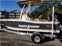 2018 Scout 195 Boat Lettering from Cecil  H, FL
