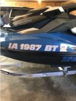 2018 Sea Doo GTI Jet ski Lettering from Scott  R, IA
