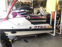 1987/89 js650sx Stand up jetski  Lettering from Kieran K, CA