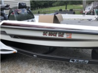 2002 Basscat Pantera 3 Boat Lettering from James W, SC
