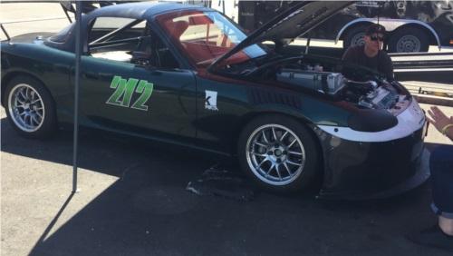 99 Mazda Miata  Car Lettering from Ricardo M, CA