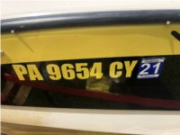 2007 Tiga Boat Lettering from Edward G, PA