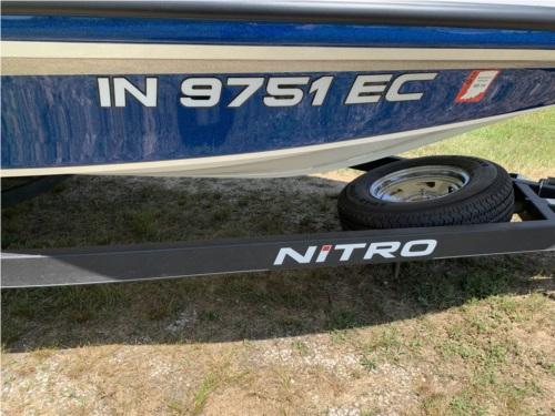 2019 Nitro Z18 Boat  Lettering from glen c, IN