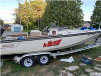 1981 Outrage V20 Boston Whaler Lettering from Greg L, Ontario