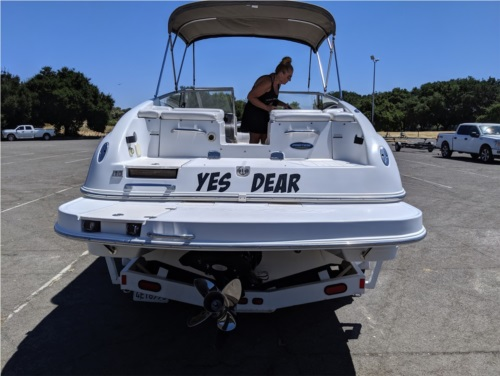 2004 Ebbtide  Boat Lettering from Patrick M, CA