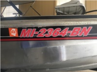 2006 Tracker Pro Crappie 175 Boat Lettering from Tracy s, MS