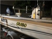 Carolina Skiff  Boat Lettering from Shane G, PA