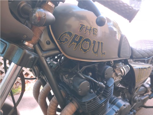 1981 gs1100 Motorcycle Lettering from Mack H, NY