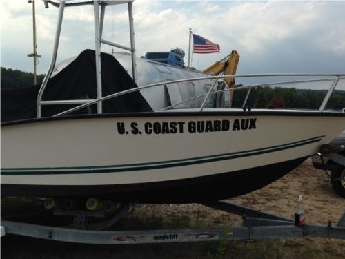 Key Largo Boat Lettering from Paul K, MA