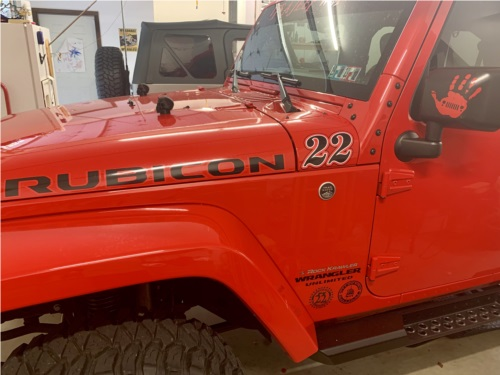 2016 Jeep Wrangler  Jeep Lettering from JASON H, PA