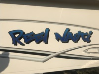 2019 CAROLINA SKIFF 218 DLV Boat Lettering from Dustin N, NC