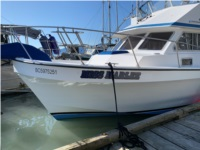 34 ft Double Eagle, charter Vessel boat Lettering from Mary-lee W, british columbia