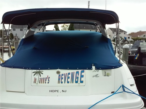 1994 370 Sea Ray Sundancer Yacht Lettering from Gregory S, NJ