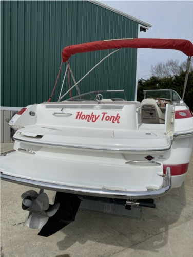 2005 Cobalt 246 Boat Lettering from Craig W, TN