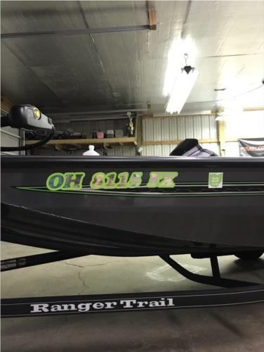 2020 Ranger RT178 New Ranger RT178 bass boat Lettering from Wayne C, OH
