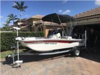 2020 MAKO 15 CC Boat Lettering from ROBERT F, FL